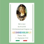 11th International Congress on Aerobiology (ICA), Parma 3-7 Settembre 2018